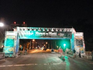 THE start line (at 4am)