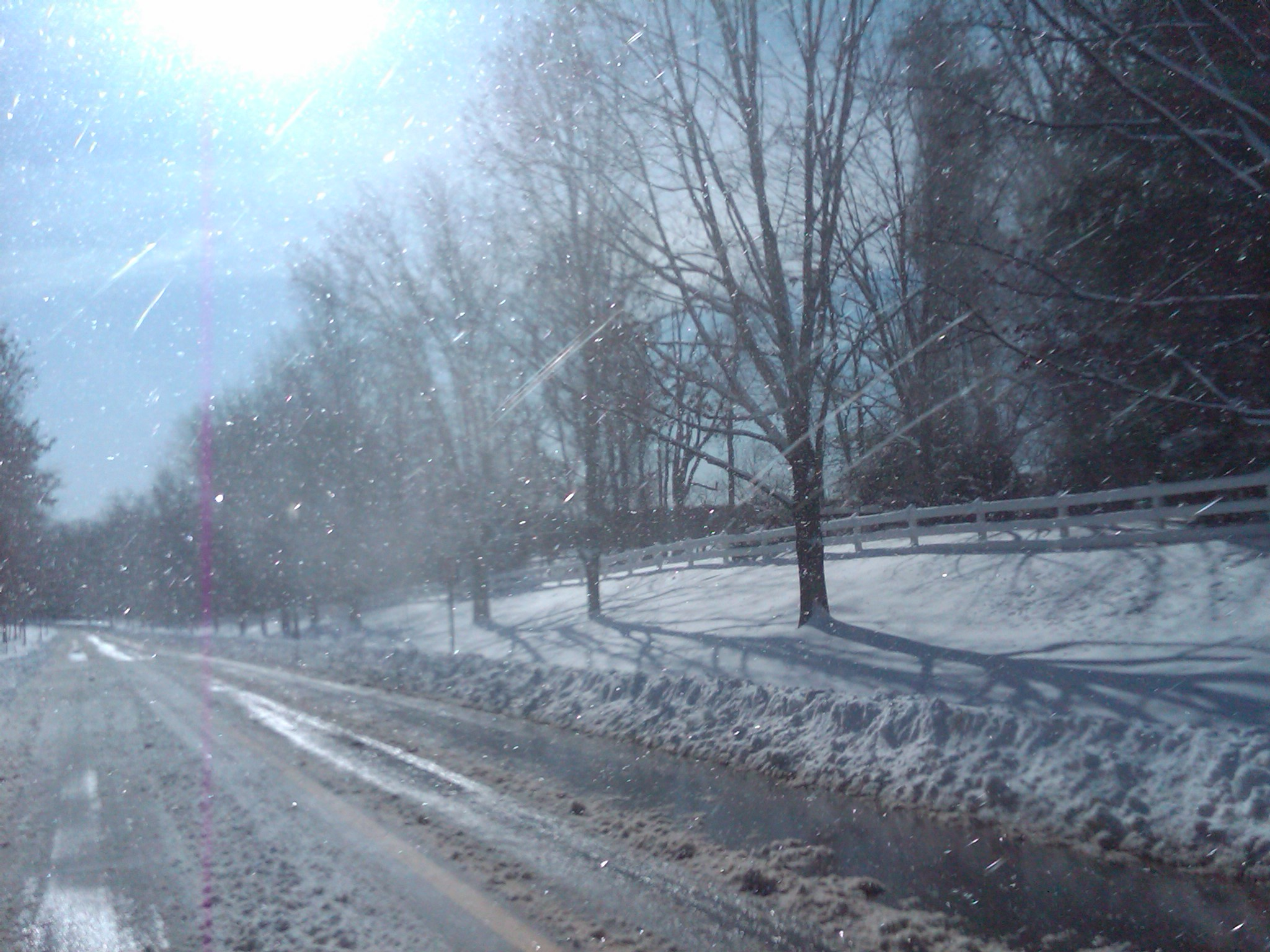 Snow Thunder!