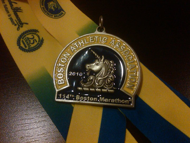 Best. Medal. Ever.
