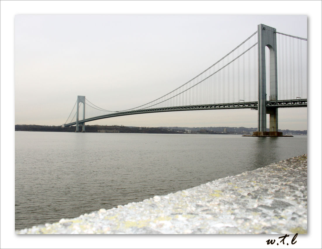 Verrazano-Narrows Bridge.