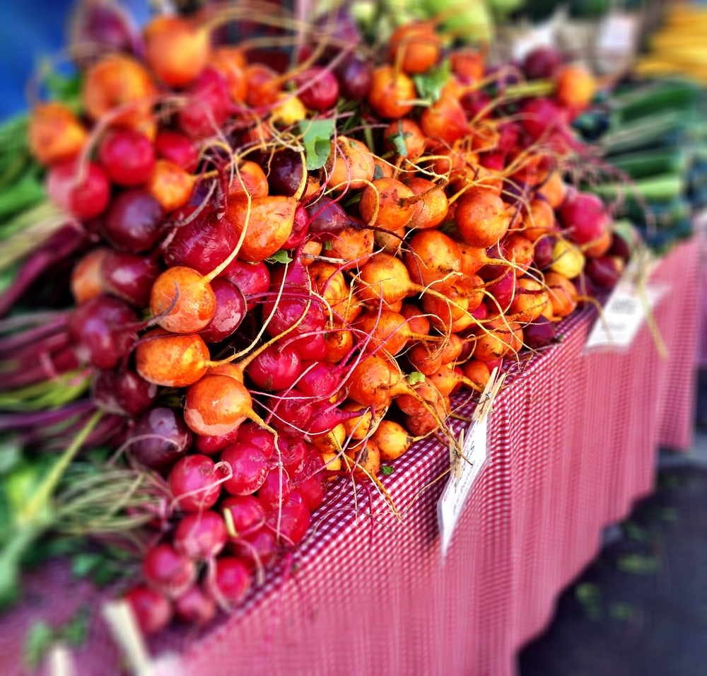 farmer's market beet photo