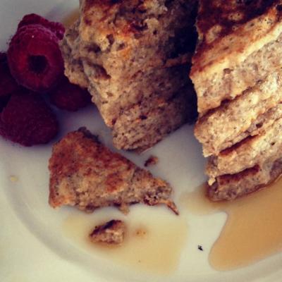 Sarah Stanley Inspired Plat-Based Pancakes
