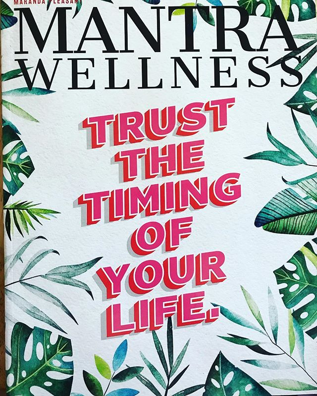 Have you picked up the latest copy of @mantramagazine yet? When you do you'll read an article written by yours truly. 💕7 Simple Step for Self-Care In a Busy World. I hope you enjoy! 💕And if you read the article and followed me on here, welcome! 💕#selfcare #health #wellness #motherhood #crunchymama #mantramagazine #boundaries #author #writing