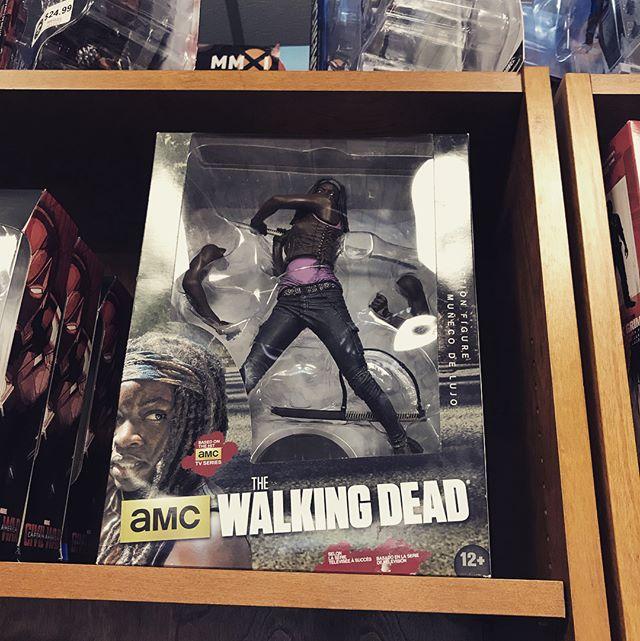 The Dead Walk at Game Box! #walkingdead #thewalkingdead #michonne #rickgrimes #actionfigures #collectibles