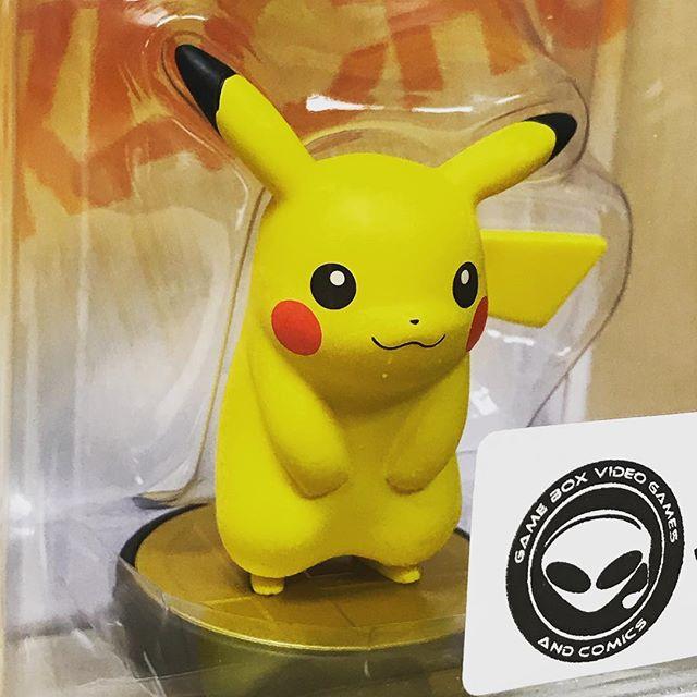 Pikachu wants to come home with you! #nintendo #amiibo #pikachu #wiiu #wiiugames #pokemon
