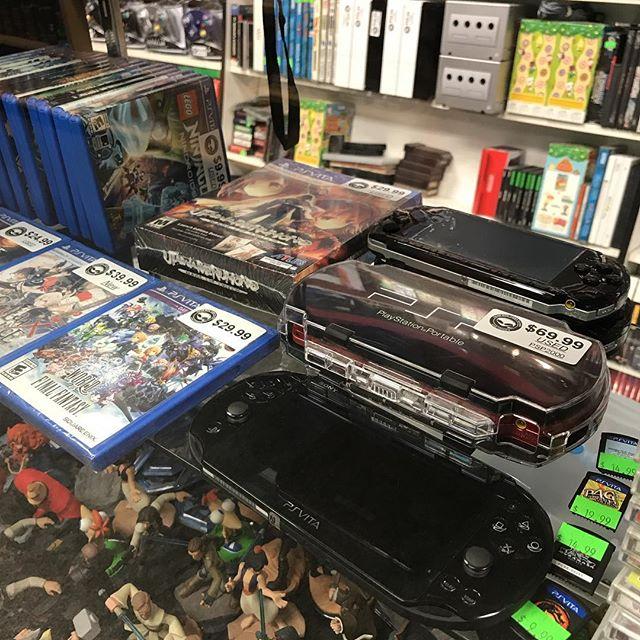 We've got PSP & PS VITA good to go! #sony #playstationportable #psp #psvita