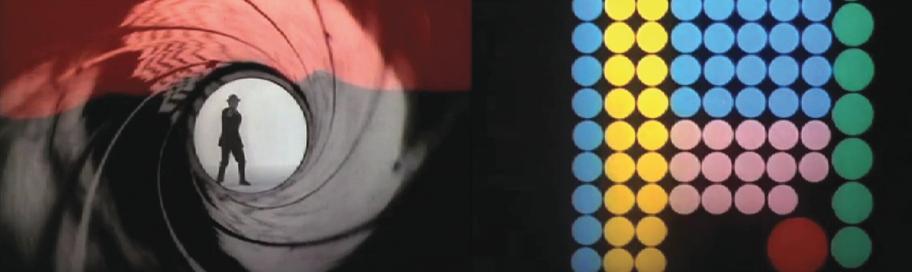 Maurice Binder - 007 당시 영상 기술의 한계로 단순한 형태와 움직임으로 표현했지만, 영화의 아이덴티티를 잘 담아내고 있어 호평을 받았다고 합니다.