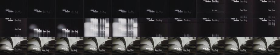 Kyle Cooper - 영화 Seven의 타이틀 시퀀스 중 1초 동안 연속되는 30프레임의 나열 (단순 움직임의 나열이 아닌 프레임 마다의 디테일을 중시했다는 점! 보이시나요?)