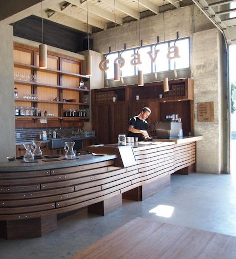 brew bar at coava