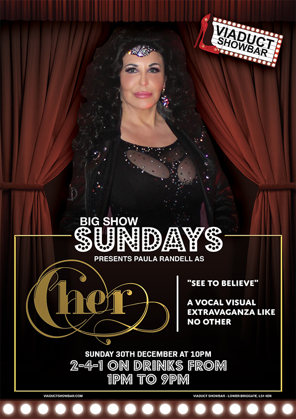Big Show Sundays Cher Poster 30th december (RGB, 210mm x 297mm, 72dpi).jpg