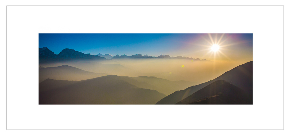 """Morning view on Everest Region"""