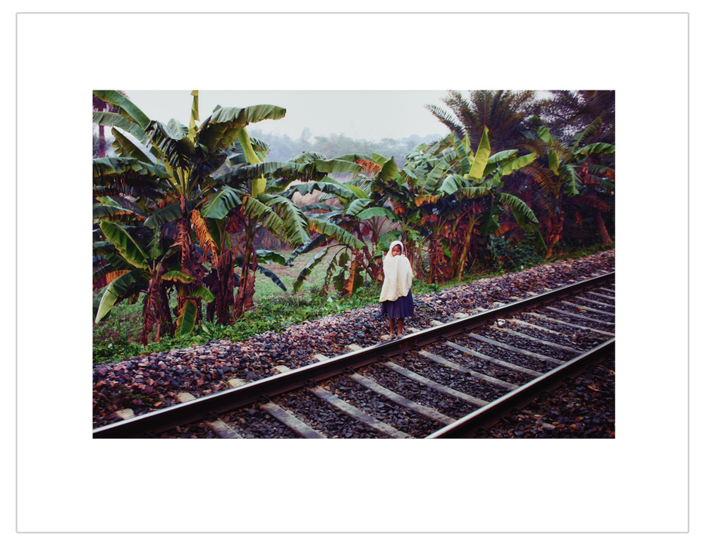 """Alone on the railway"""