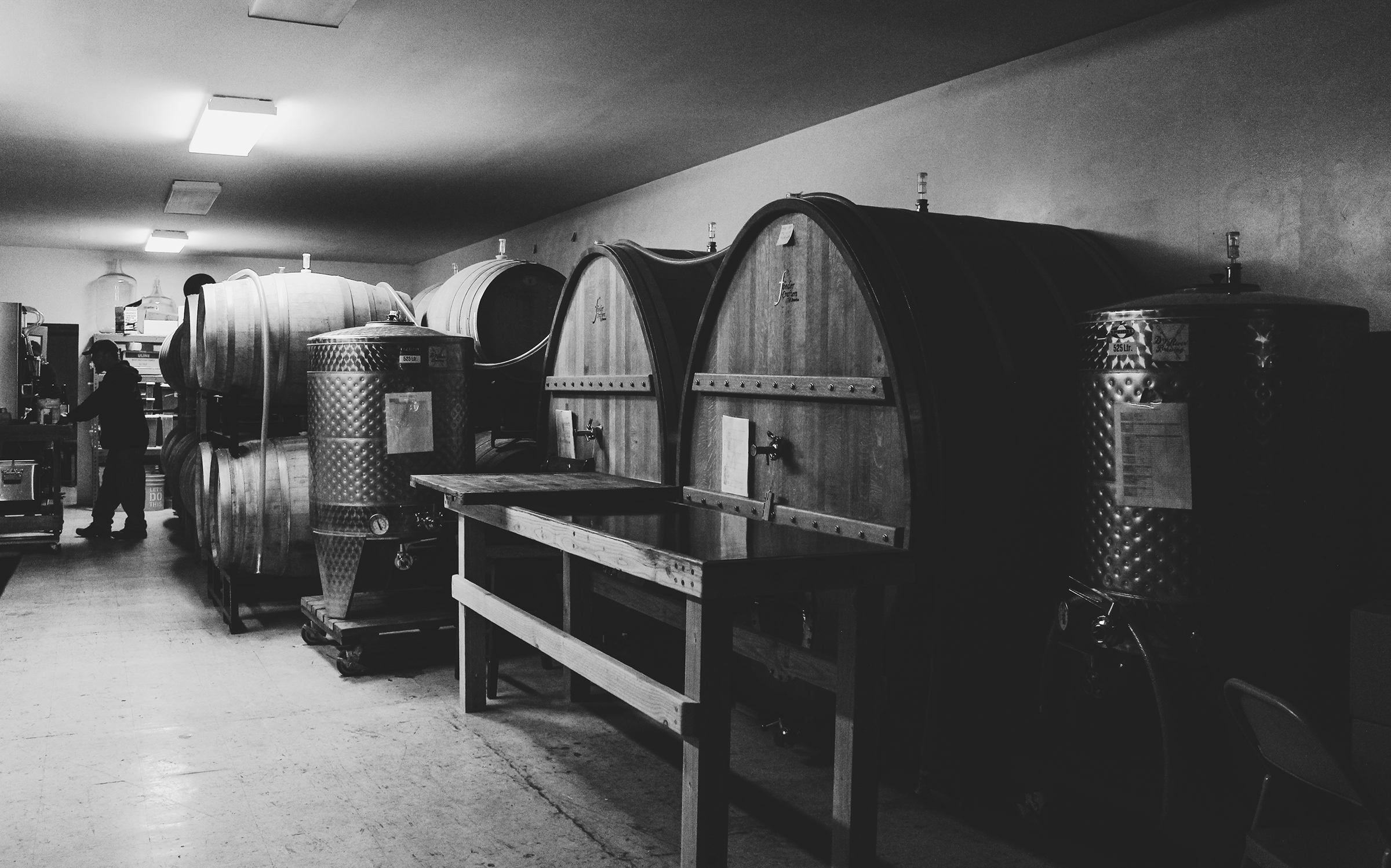 The Barrel Room — Dry River Brewing