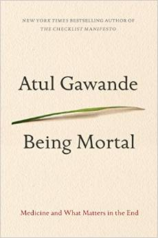 Book cover artwork: A. Gawande: Being Mortal