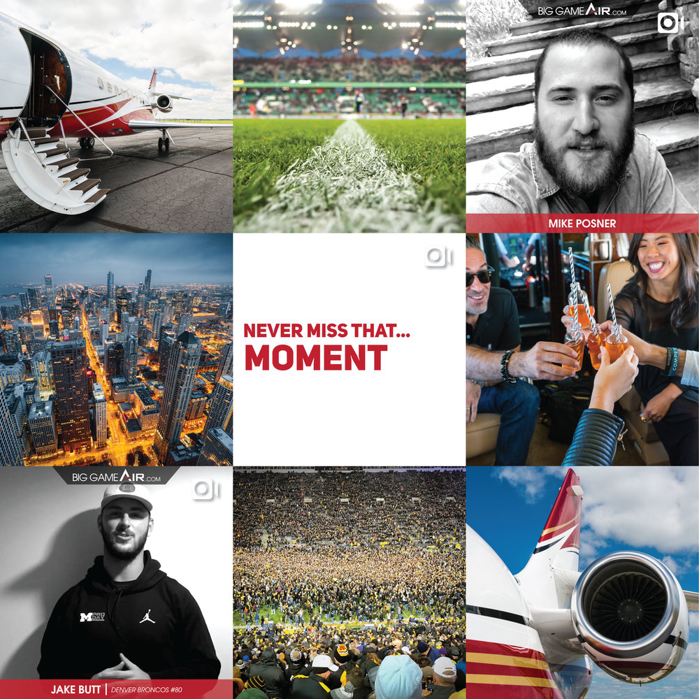Instagram Launch layout