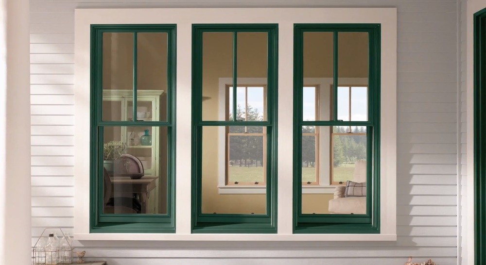 A full-service retrofit window  Window