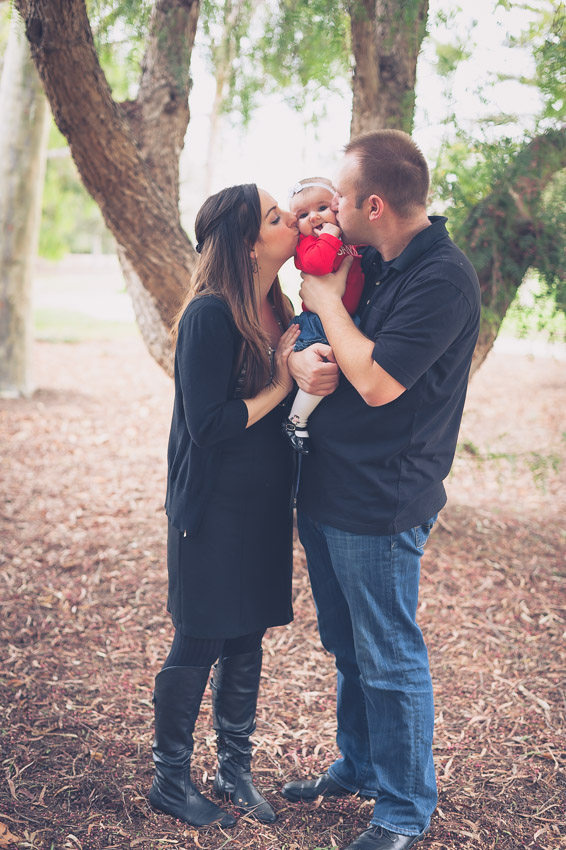Holiday session at Heritage Park, Camarillo family photographer