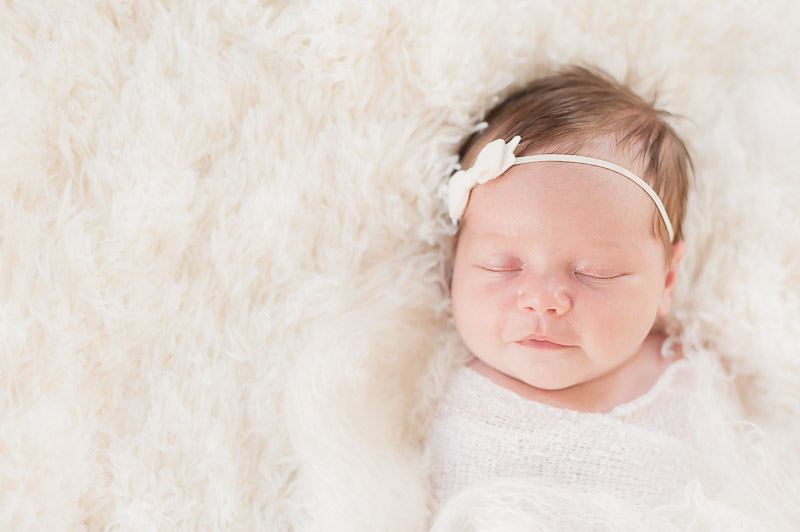 Simply beautiful, little newborn girl Ventura photo