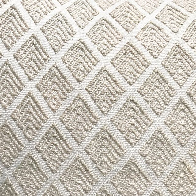 Getting ready for winter whites and creams: The aptly-named Pinos (Pines) pattern is coming soon for holidays.