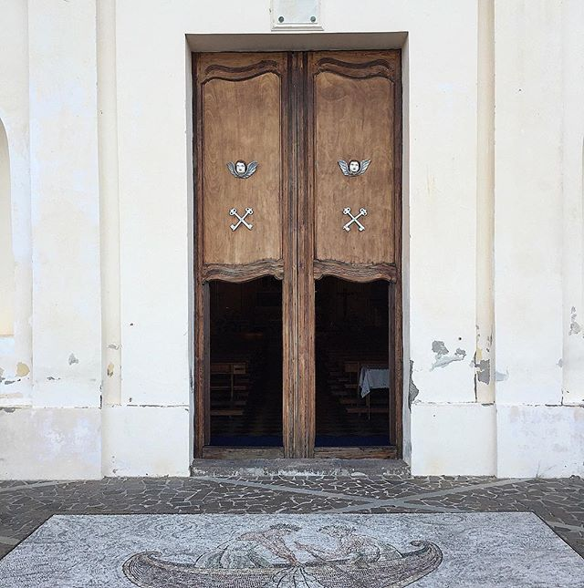 Wabi-sabi church doors c/o Summer 2015
