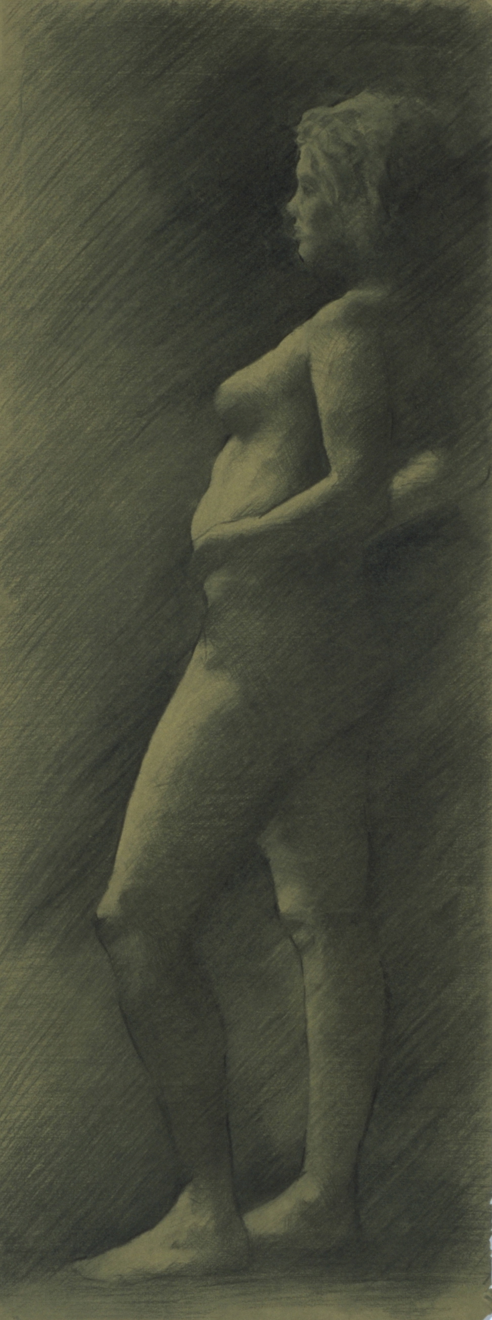 Female Nude, side view
