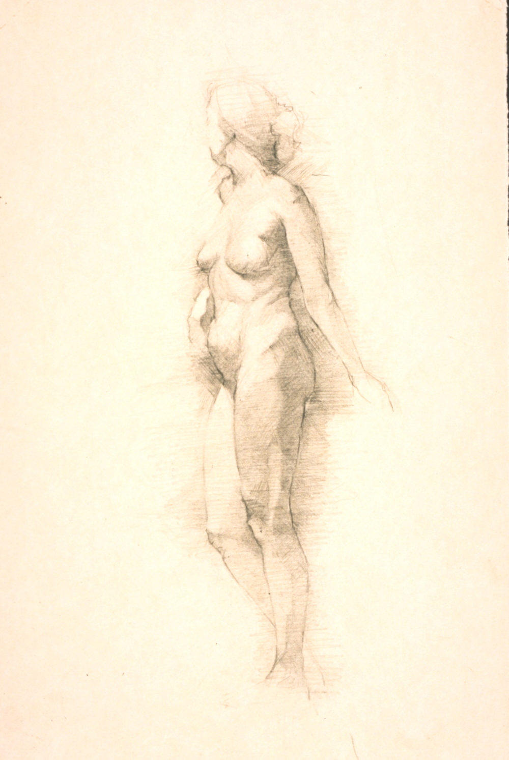 Femal Nude, side