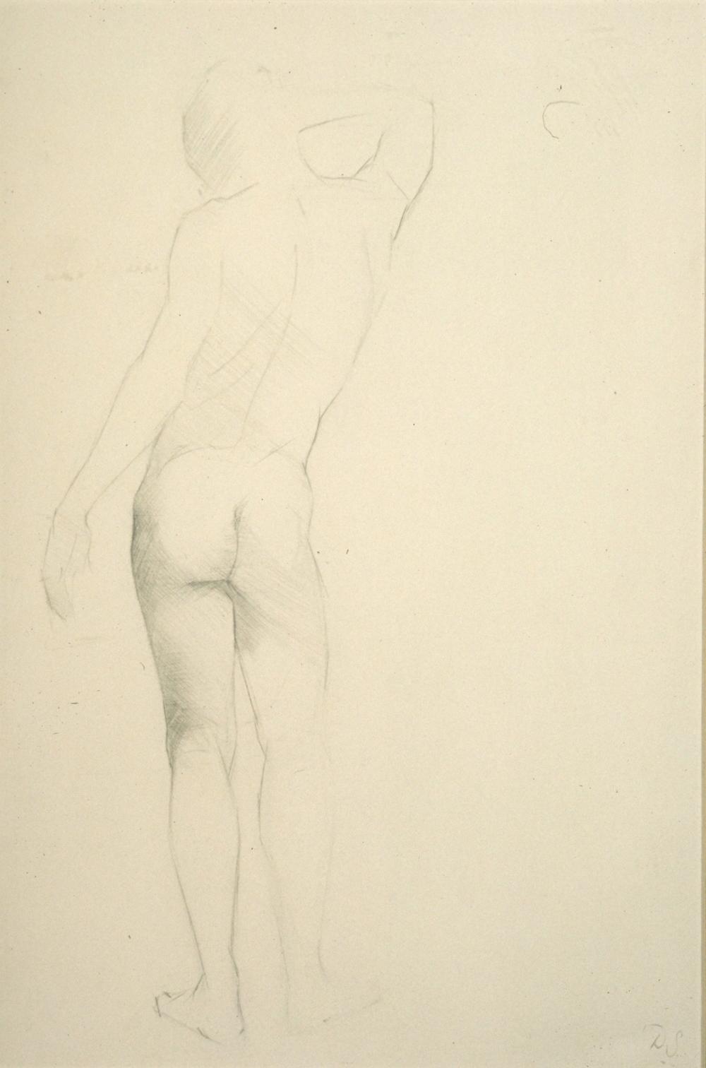 Male Nude, contra posto