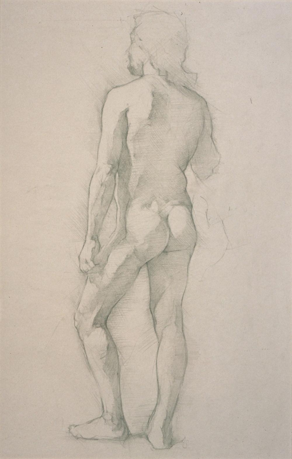 Male Nude, contro posto