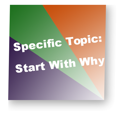 Specific Topic:Start With Why