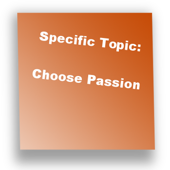 Specific Topic: Choose Passion