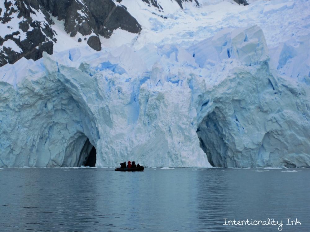 Antarctica Glacier Cavern
