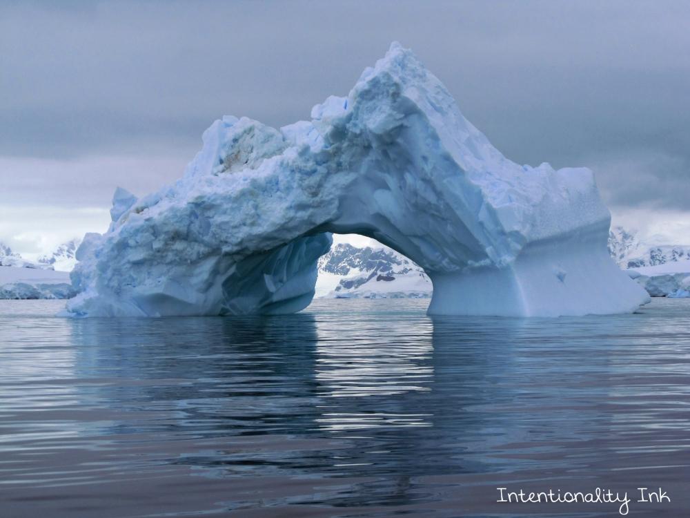 Antarctica Iceburg graveyard