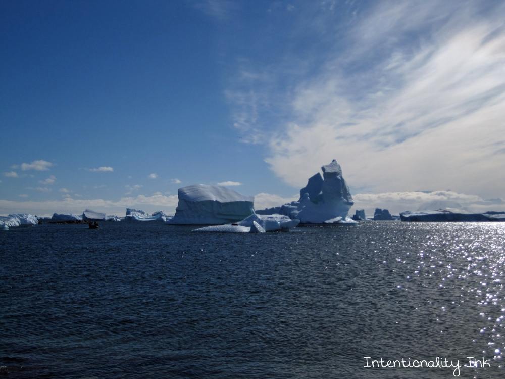 Antarctica scenery ice