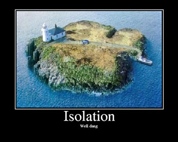 The World Creeps Toward Isolation…  Share It