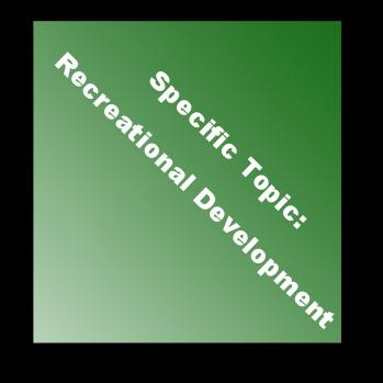 Specific Topic:Recreational Development