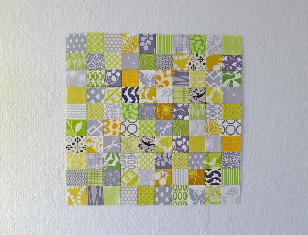Stamp Collection block by Elizabeth Hartman. ohfransson.com