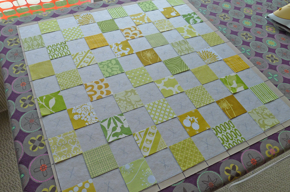 Making a Stamp Collection block. ohfransson.com