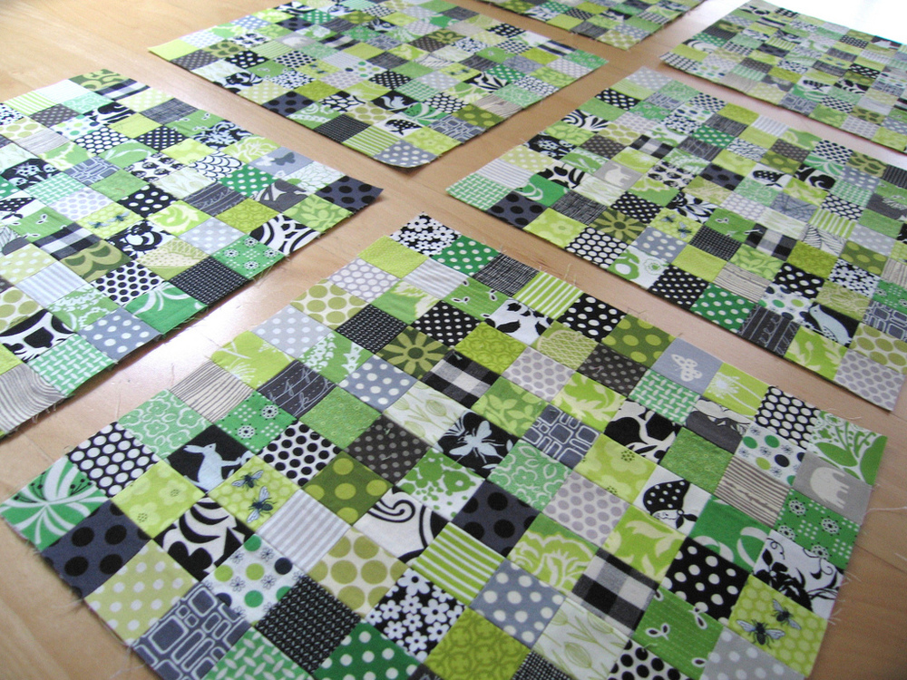 Stamp Collection blocks by Elizabeth Hartman. ohfransson.com