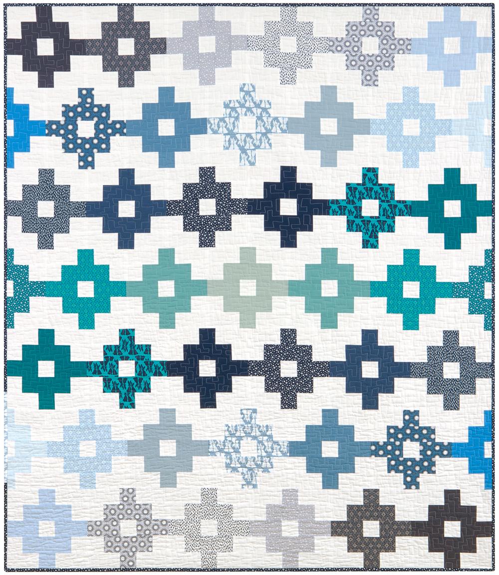 Woven Quilt Pattern by Elizabeth Hartman