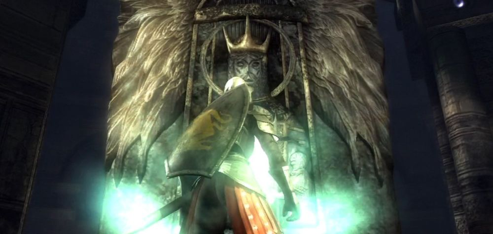 Demon's Souls level select pillars 1-1