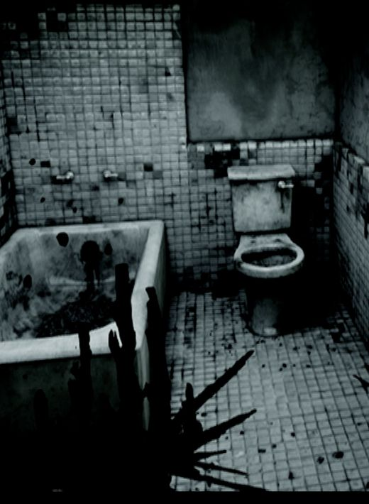 Homesick nightmare sequence bathroom.