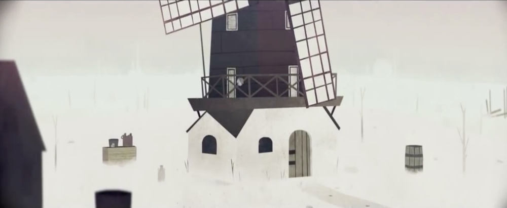 Year Walk wind mill for iOS, Wii U, and PC.
