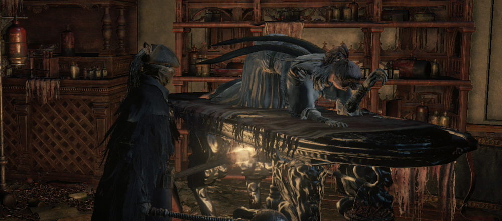 Bloodborne 2015 Castle Couch nominee for Mechanics as Metaphor award.