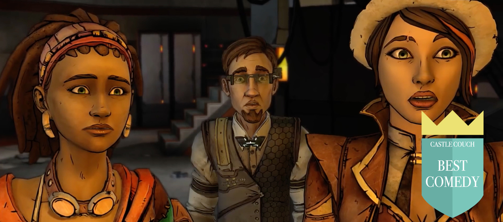 Tales from the Borderlands Game of the Year 2015: Best Comedy. PC, iOS, Xbox, PS4