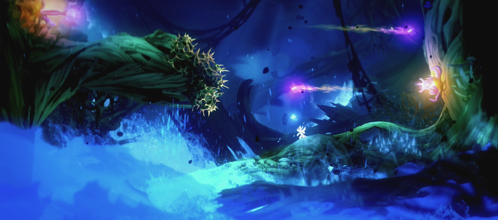 Ori and the Blind Forest Game of the Year 2015: Art of Challenge Award