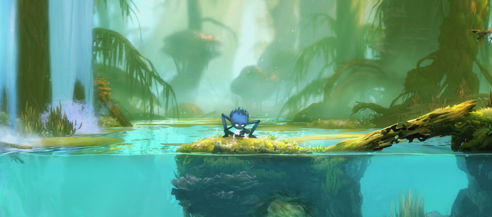 Game of the Year 2015: Ori and the Blind Forest for Xbox One and PC via Xbox Sotre and Steam Moon Studios. Forest area.