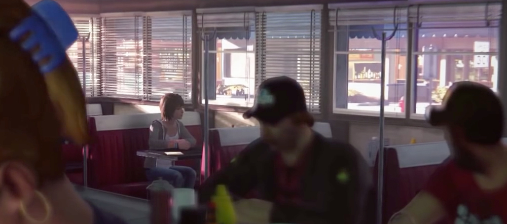 Game of the Year 2015: Olivier's Top 10: Life is Strange at diner in Arcadia Bay