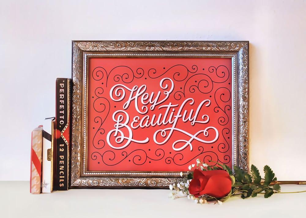 hey-beautiful-lettering-print-leo-gomez