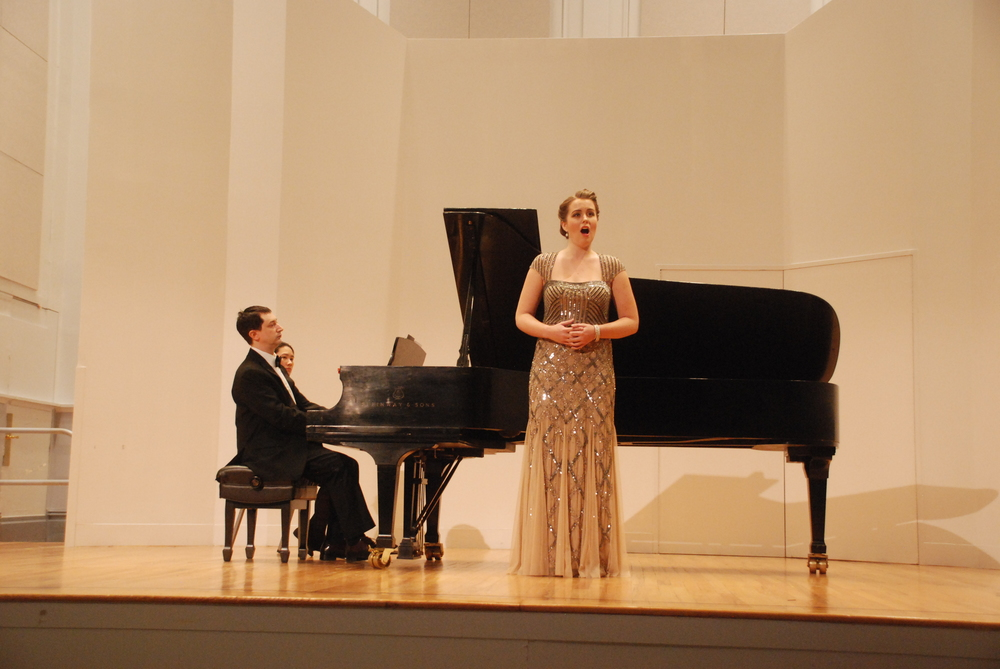 Masters' Recital at Manhattan School of Music