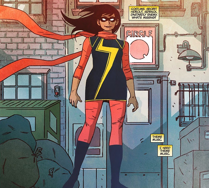 Ms Marvel. Digital image.  Other Dimensions and Galaxies . BLOGGER, 2014. Web. 2014.